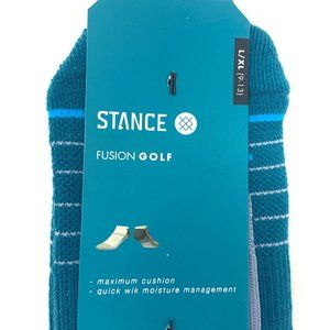 Stance Underwear & Socks - Stance Lahaina Blue Low Golf Socks Mens Size LG/XL